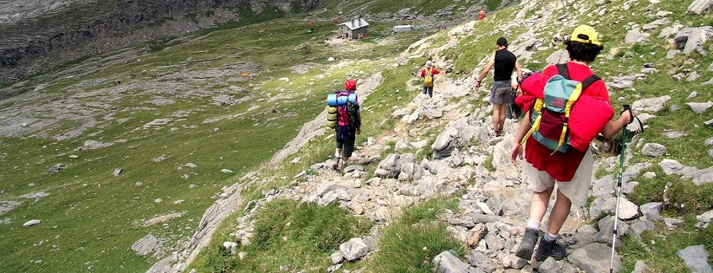 Trekking ed Escursioni a Piedi