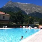 Piscina di Montegallo sui Monti Sibillini