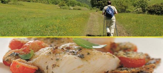 Sabato 31 Agosto, al Rifugio Altino, Passeggiata sul Sentiero dei Mietitori e cena con il Baccalà