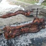 Il Porceddu sardo al Rifugio Altino di Montemonaco 2