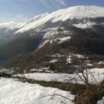 Ispezione prima del trekking nei dintorni del Rifugio Altino di Montemonaco2