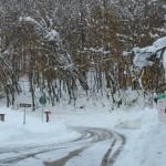 Prima neve inverno 2013 al Rifugio Altino1