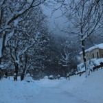 Prima neve inverno 2013 al Rifugio Altino10