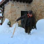 Prima neve inverno 2013 al Rifugio Altino31
