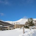 Prima neve inverno 2013 al Rifugio Altino42