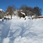 Prima neve inverno 2013 al Rifugio Altino44