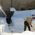 Prima neve inverno 2013 al Rifugio Altino45