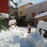 Prima neve inverno 2013 al Rifugio Altino54