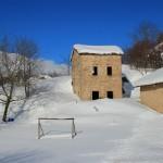 Prima neve inverno 2013 al Rifugio Altino61