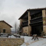 2014-01-25 Neve ed Escursionisti al Rifugio Altino