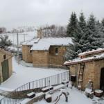 2014-01-25 Neve ed Escursionisti al Rifugio Altino12