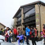 Ciaspole Polenta e non solo al Rifugio Altino di Montemonaco sui Monti Sibillini