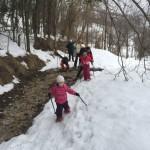 Ciaspolata per Famiglie al Rifugio Altino con gli animali del bosco3