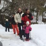 Ciaspolata per Famiglie al Rifugio Altino con gli animali del bosco7