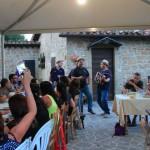 A cena con Le Fate e gli Stornelli al Rifugio Altino di Montemonaco sui Monti Sibillini25