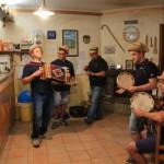 A cena con Le Fate e gli Stornelli al Rifugio Altino di Montemonaco sui Monti Sibillini30