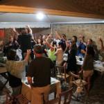 A cena con Le Fate e gli Stornelli al Rifugio Altino di Montemonaco sui Monti Sibillini35