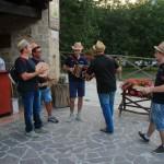 A cena con Le Fate e gli Stornelli al Rifugio Altino di Montemonaco sui Monti Sibillini6