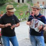 A cena con Le Fate e gli Stornelli al Rifugio Altino di Montemonaco sui Monti Sibillini7