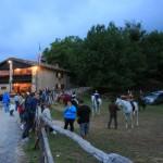 Western e Cavalli al Rifugio Altino di Montemonaco sui Monti Sibillini