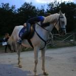 Western e Cavalli al Rifugio Altino di Montemonaco sui Monti Sibillini2