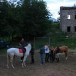 Western e Cavalli al Rifugio Altino di Montemonaco sui Monti Sibillini5