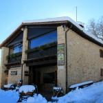 La prima neve della stagione al Rifugio Altino