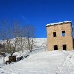La prima neve della stagione al Rifugio Altino11