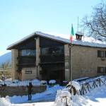 La prima neve della stagione al Rifugio Altino14