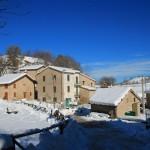 La prima neve della stagione al Rifugio Altino21