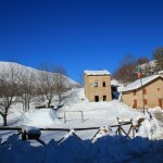 La prima neve della stagione al Rifugio Altino26