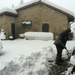 La prima neve della stagione al Rifugio Altino3
