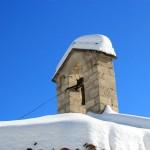 La prima neve della stagione al Rifugio Altino9