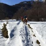 Falò al Rifugio Altino di Montemonaco sui Monti Sibillini1